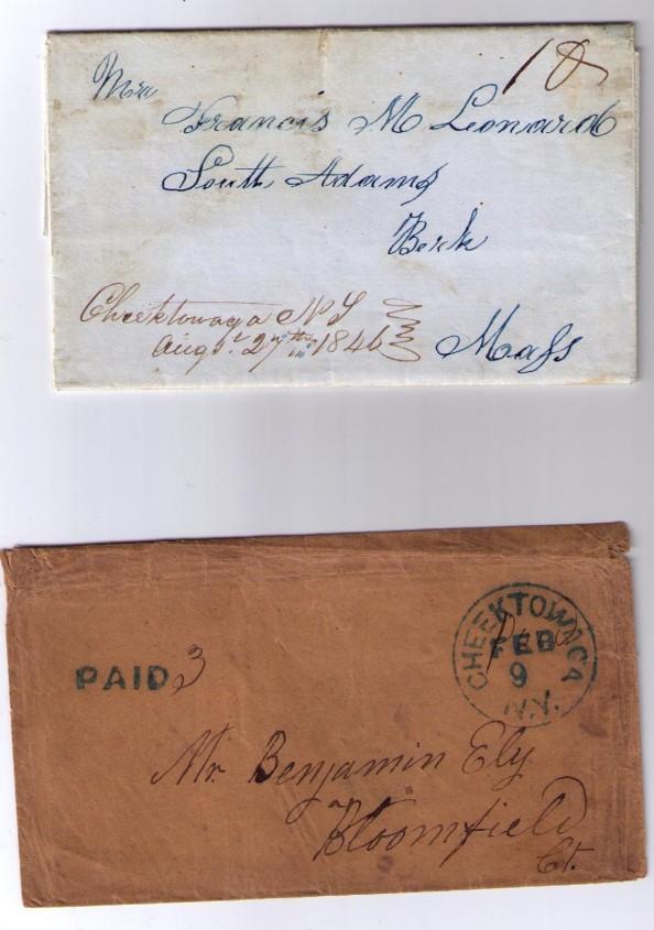 Cheektowaga 1846 & 1850s