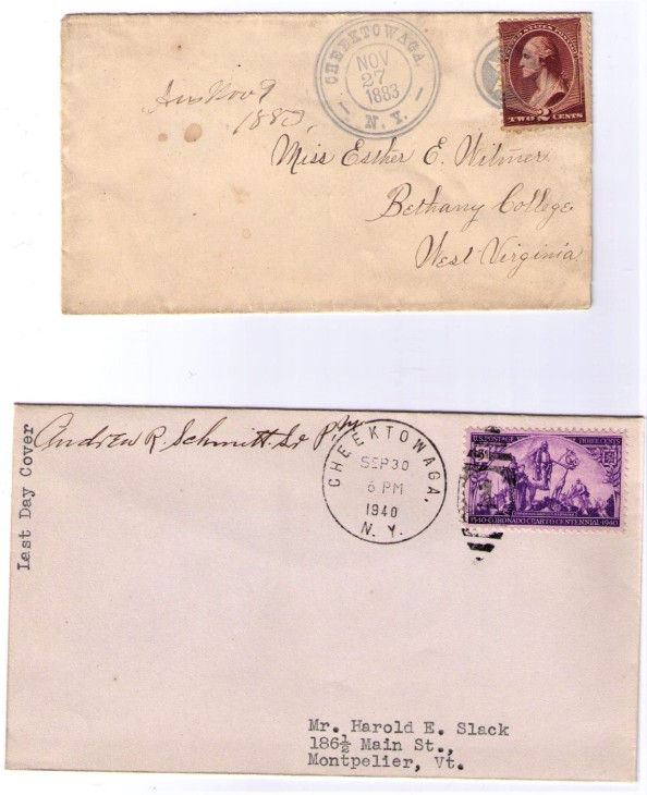 Cheektowaga 1883 & 1940