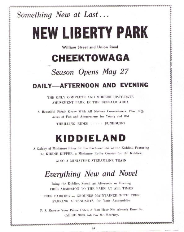 New Liberty Park 1949